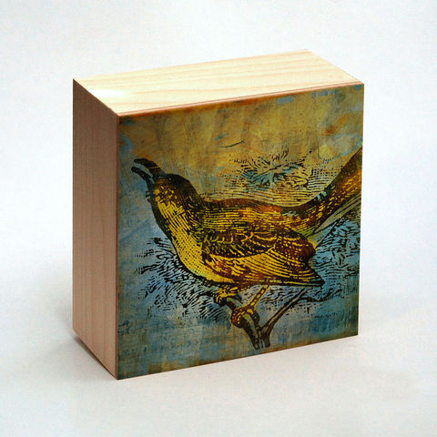 Mockingbird,Art,Print,Box,-,4,in,x,Pick,the,Vintage,illustration,inspired,art,Illustration,Digital,wood,reproduction,mounted,cradled_board,box,vintage_illustration,mockingbird_art,print,paper,ink,glue,sealer