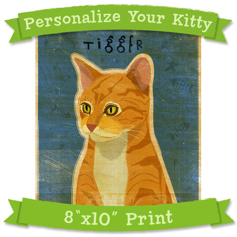 Cat,Art,Print,-,Personalize,Your,Kitty,8,in,x,10,Not,Portrait,Pets,Dog,illustration,digital,reproduction,breed,personalize,custom_pet,kitty,feline,Cat_Art_Print,paper,ink