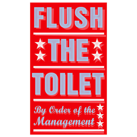 Wall,art,for,Bathrooms,-,Flush,the,Toilet,Print,6,in,x,10,Children,Toddler,illustration,print,digital,john_w_golden,brush,teeth,yellow,land_of_nod,by_order_of,the_management,flush_the_toilet,Wall_Art_for_Bath,paper,computer