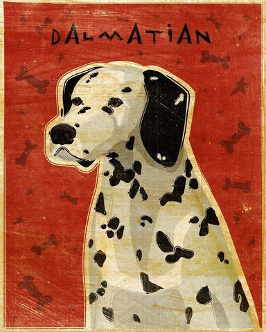 Dalmatian,Print,8,x,10,Art,Illustration,digital,whimsical,cute,dog,animals,animal,dalmation,fire_dog,paper,ink