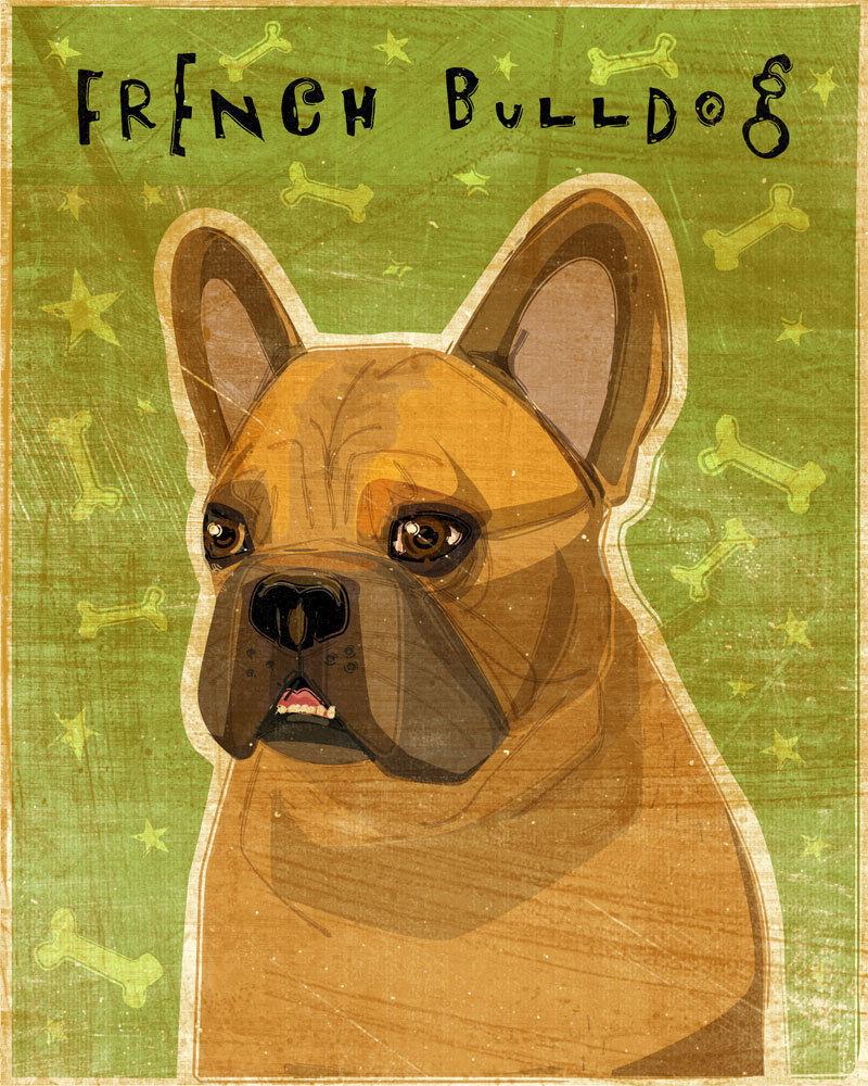 French Bulldog (Fawn) Print 8 X 10