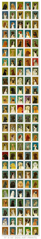 Dog Wall Art Box - Pick Your Pooch - 12 in x 16 in - product images  of