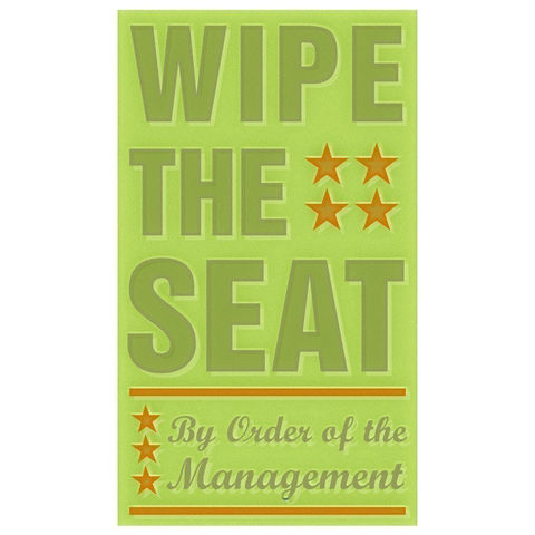 Wipe,the,Seat,Print,6,in,x,10,Children,Toddler,art,illustration,print,digital,parental,john_w_golden,wipe,seat,olive,text,typography,paper,computer
