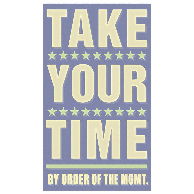 Art for Kids Room - Take Your Time Print 6 in x 10 in - product images  of