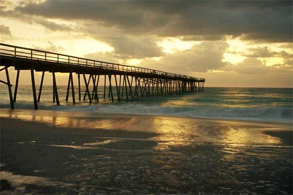 Oceanic Pier, or Crystal Pier Photograph - product images