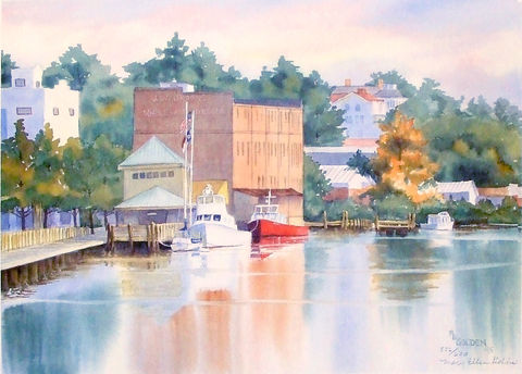 Tranquillity,Limited,Edition,River, cape fear, fireboat,Brooks cash grocery,Wilmington NC