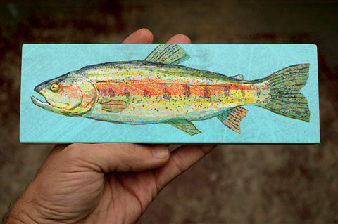 Freshwater,Fish,Art,Medium,Block,-,Rainbow,Trout,Print,9,in,x,3,Wall,Decor,Fisherman,Gift,Fathers,Day,for,Dad,Digital,Wood_Art_Block,Fish_Art_On_Wood,Fish_Wall_Decor,Fish_Wall_Art,Fish_Wall_Hanging,Fish_Illustration,Fish_Artwork,Freshwater_Fish_Art,Fathers_Day_Gift,Gift_For_Dad,Dad_Gift,Rainbow_Trout_art,trout_art_print,wood,paper,ink,glue,sealer