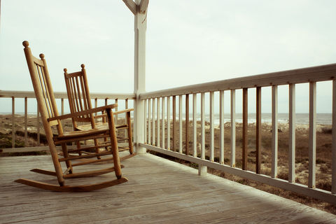 Rockers,rockers,coastal beach decor, chairs, Bald Head Island