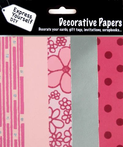 Pink,&,Silver,Papers,Craft, Pink, Silver, Papers