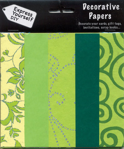 Green,Papers,Craft, Green, Papers