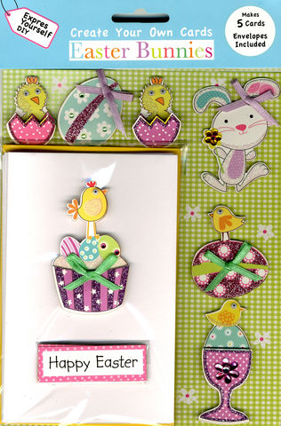 Box,Kits,-,Eggcup,Craft, Easter, Chick, Egg, Bird, Bunting, Tree, Bunny, Eggcup, Box Kit