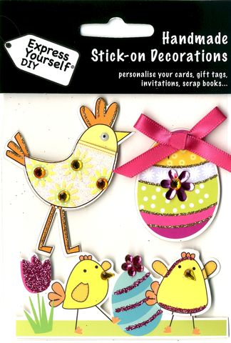 Chicken,&,Chicks,Eggs,Craft, Easter, Chicken & Chicks & Eggs , Toppers