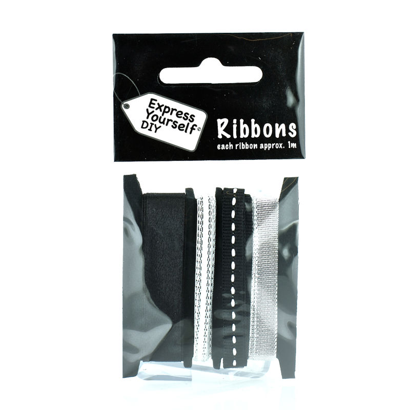 Black & Silver Ribbons - product images
