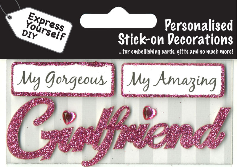 Make It Personal (Caption Topper) - Girlfriend (Pink) - product images