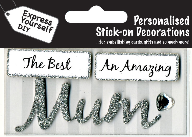 Make It Personal (Caption Topper) - Mum (Silver) - product images