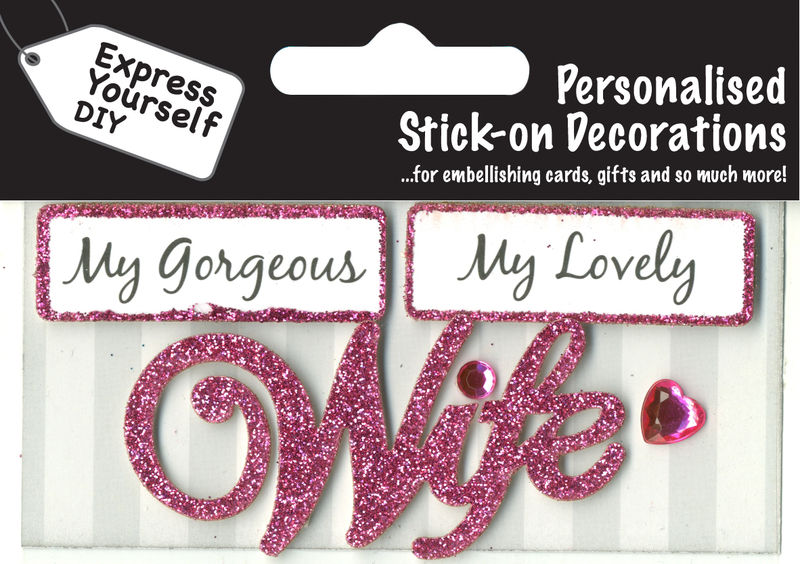 Make It Personal (Caption Topper) - Wife (Pink) - product images