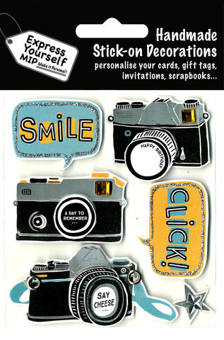Camera,&,Smile,Craft, Camera, Smile, Photography, Pictures, Topper