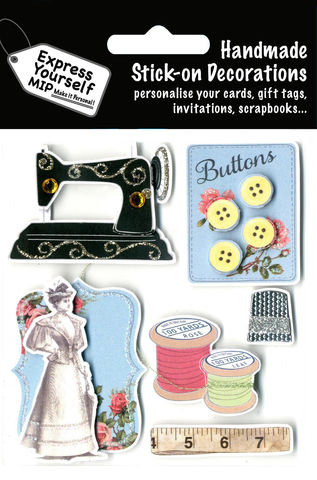 Sewing,Craft, Sewing, Sewing Kit, Sewing Machine, Buttons, Tread, Topper