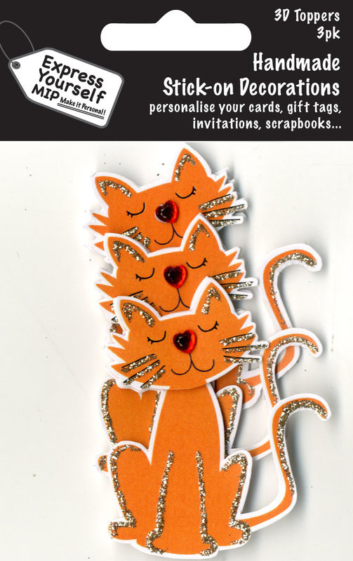 Mini Multi Pack Toppers - Marmalade Cat - product images