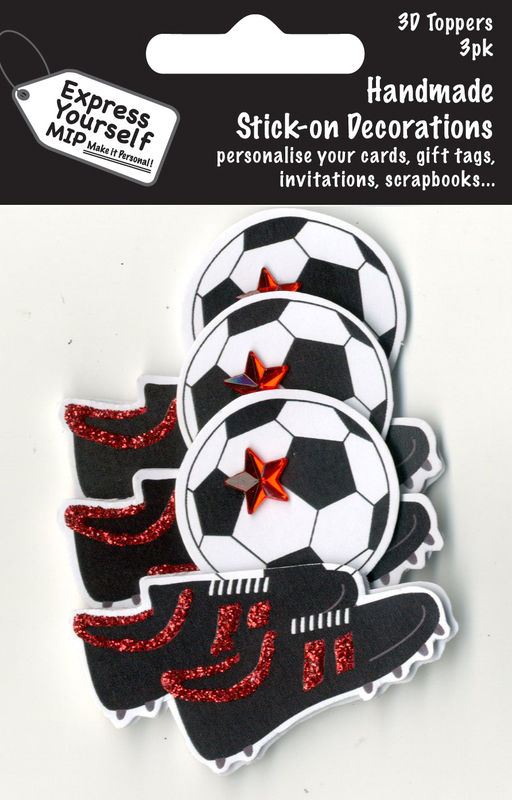 Mini Multi Pack Toppers - Football & Boots - product images