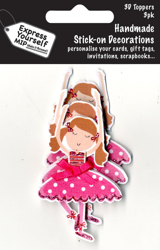 Mini Multi Pack Toppers - Ballerina - product images