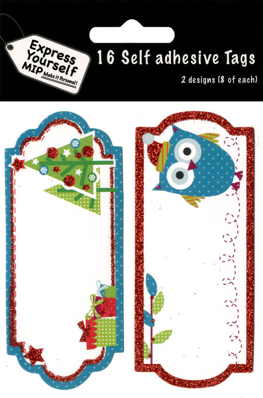 Tags - Owl,Trees & Gifts - product images
