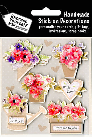 Flower,Bouquets,&,Heart,Craft, Flower Bouquets, Heart, Gardening, Topper