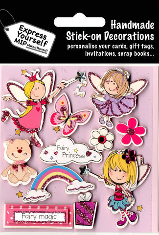 Fairy,Princesses,Craft, Fairy Princesses, Flower, Teddy Bear, Rainbow, Butterfly, Pink, Magic, Banner,  Topper