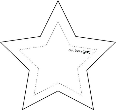 photograph about Printable Star Template referred to as Templates Printables Assortment - Specific By yourself Do it yourself