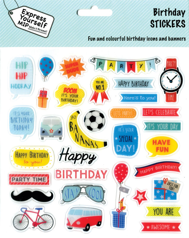 Stickers - Birthday Boy - product images