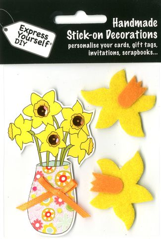 Daffodils,Craft, Easter, Daffodils, Toppers
