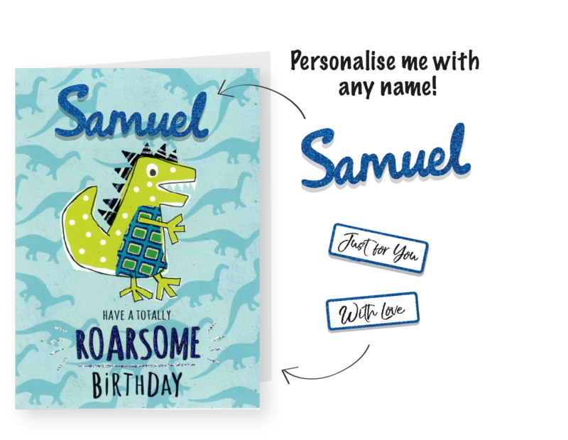 Make It Personal (Birthday Card For Personalisation) - Crocodile - product images  of