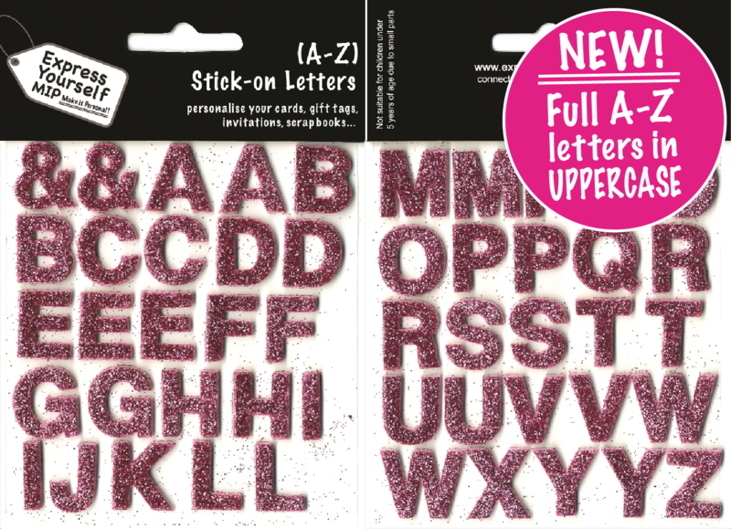 Alpha Letters A - Z (Pink) Complete Alphabet - product images