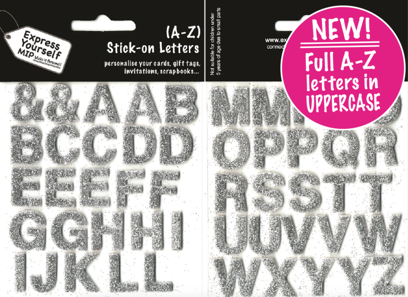 Alpha Letters A - Z (Silver) Complete Alphabet - product images