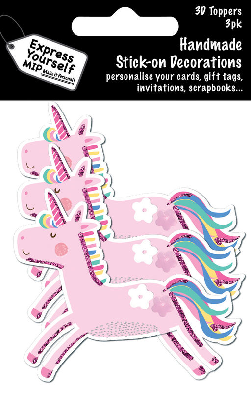 Mini Multi Pack Toppers - Unicorn - product images