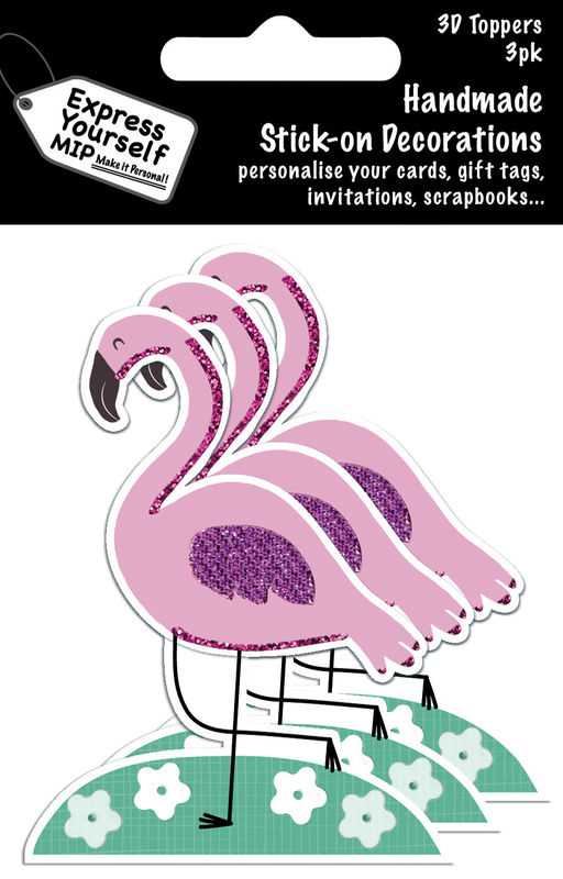 Mini Multi Pack Toppers - Flamingo - product images