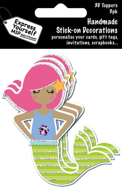 Mini Multi Pack Toppers - Mermaid - product images