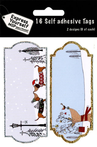 Tags,-,Sausage,Dogs,,Reindeer,With,Robin,Craft, MIP, DIY, Christmas, Christmas decorations, handmade, Toppers, Personalise, Sausage Dogs, Reindeer With Robin, Tag