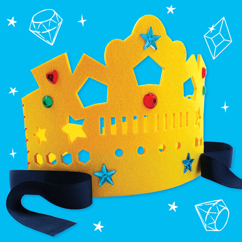 Get Set Make - Crown Felt (Yellow) - product images  of