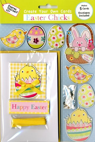 Box,Kits,-,Chick,In,Egg,Craft, Easter, Chick, Egg, Box Kit