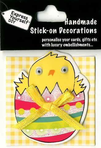 Mini,Toppers,-,Chick,In,Egg,Craft, Easter, Chicken, Egg, Yellow, Chick, Mini Toppers