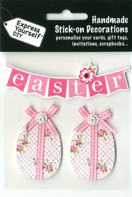 Floral Eggs & Easter Bunting - product images