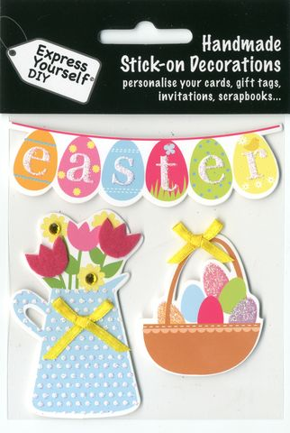 Easter,Eggs,&,Flowers,Craft, Easter, Eggs, Flowers , Toppers