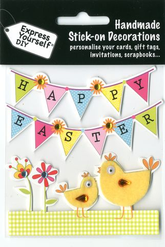 Chicks,&,Bunting,Craft, Easter, Chicks, Bunting , Toppers