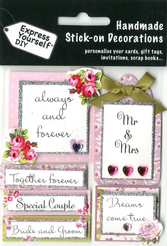 Wedding,Captions,Craft, Wedding Captions, Flowers, Pink, Topper