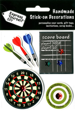 Darts,Craft, Darts, Board, Game ,Topper