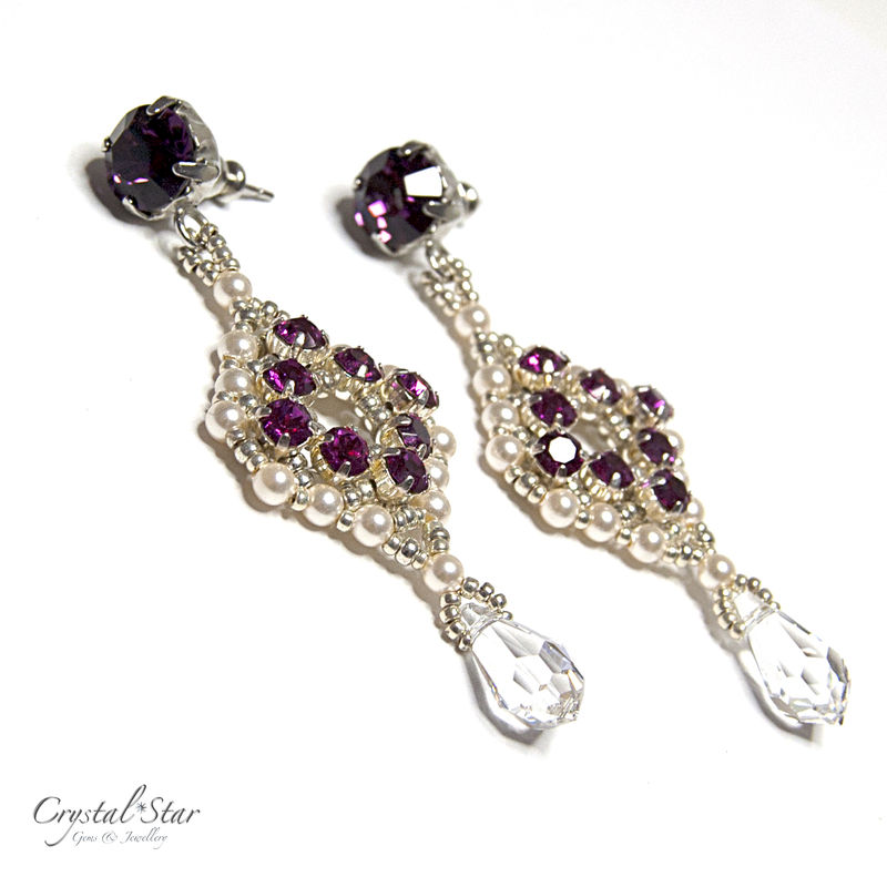 Pink Regency Earrings - product image