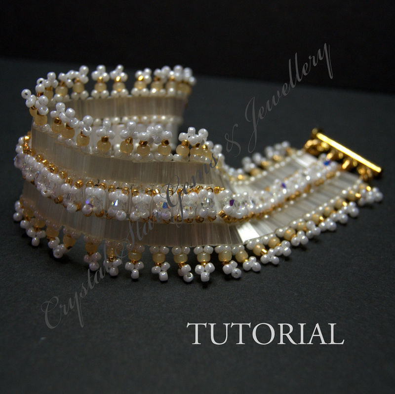 Silky Tila Bead Bracelet Tutorial - product images