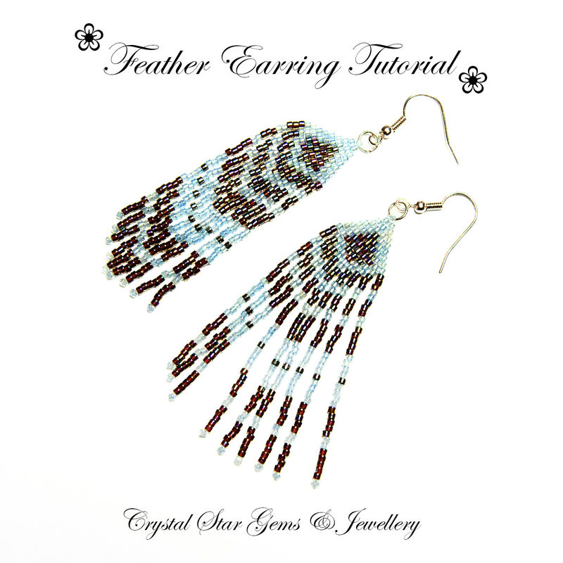 Feather Earrings Tutorial - product images