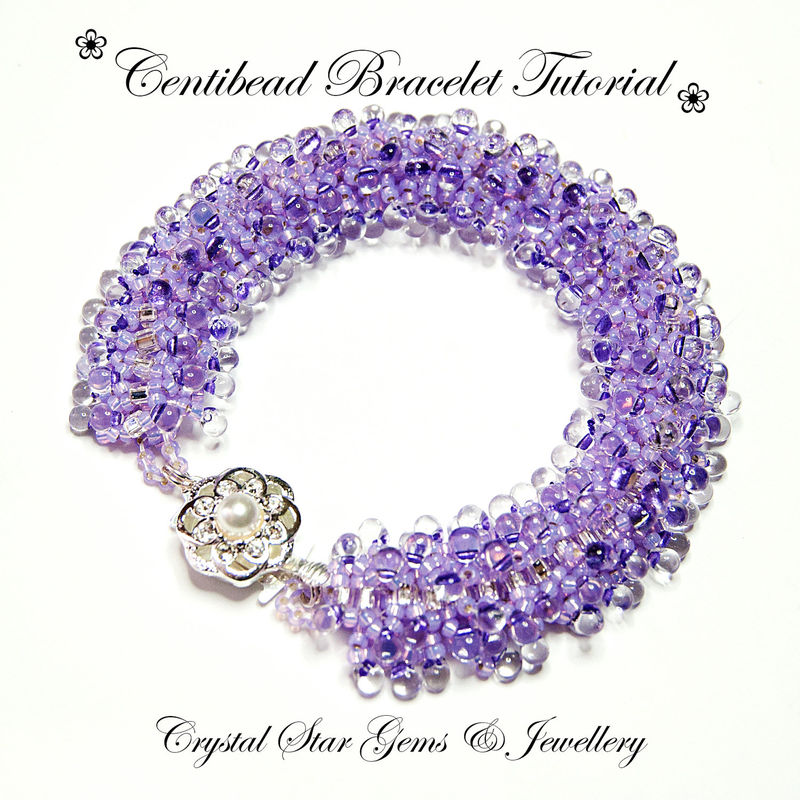 Centibead Bracelet Tutorial - product images